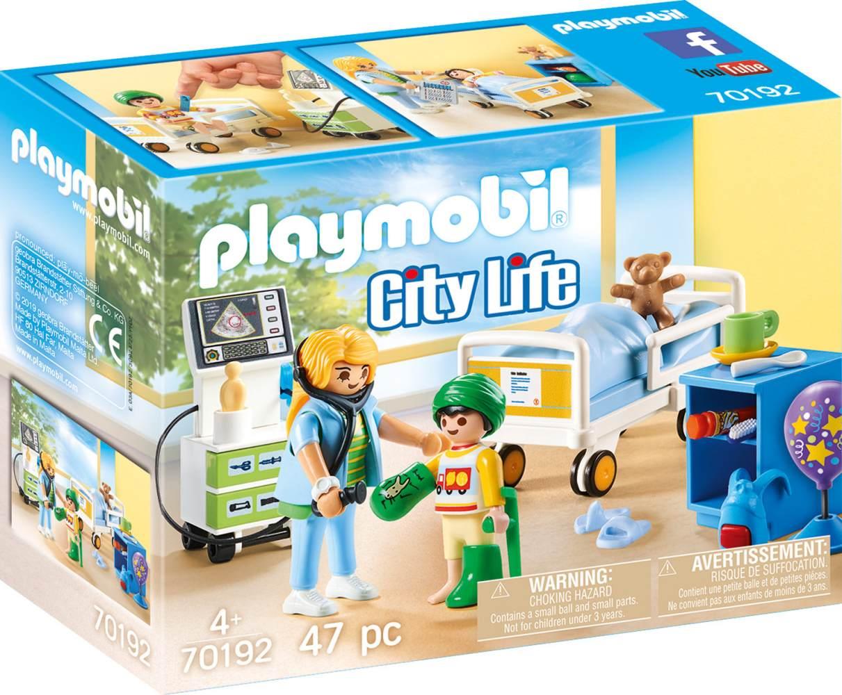 Playmobil City Life 70192 'Kinderkrankenzimmer', 47 Teile, ab 4 Jahren Bild 1