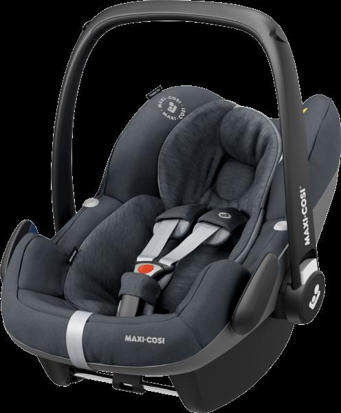 Maxi-Cosi 'Pebble Pro i-Size' Babyschale 2020 Essential Graphite von 45-75 cm, bis 13 kg (Gruppe 0+) Bild 1