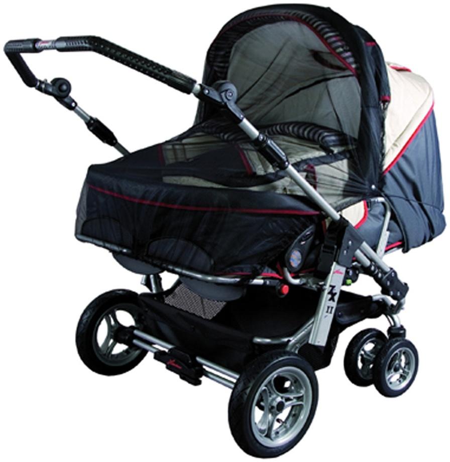 Sunnybaby 10363 Insektenschutznetz für Zwillings-Kinderwagen - Farbe: SCHWARZ Bild 1