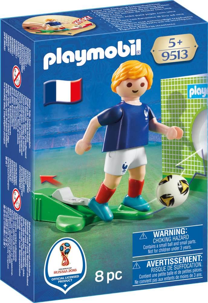 Playmobil 9513 Nationalspieler Frankreich ja Spielzeugfiguren Bild 1