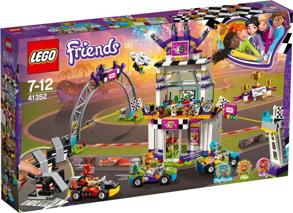 LEGOFriends Das große Rennen 41352 Kinderspielzeug Bild 1