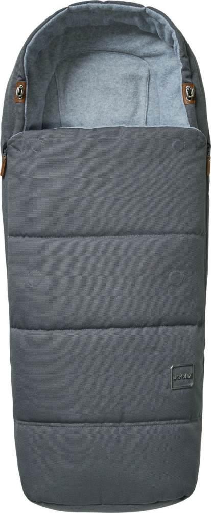 Joolz Fußsack Gorgeous Grey 2020, ganzjährig einsetzbar, universell einsetzbar Bild 1