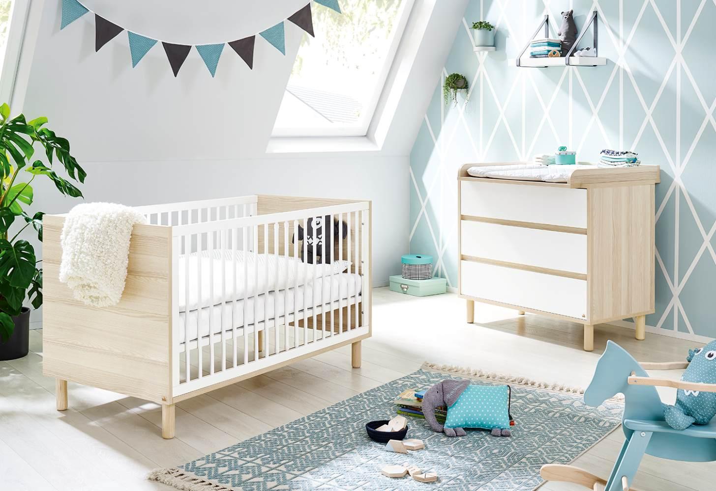 Pinolino 'Flow' 2-tlg. Babyzimmer-Set breit Bild 1
