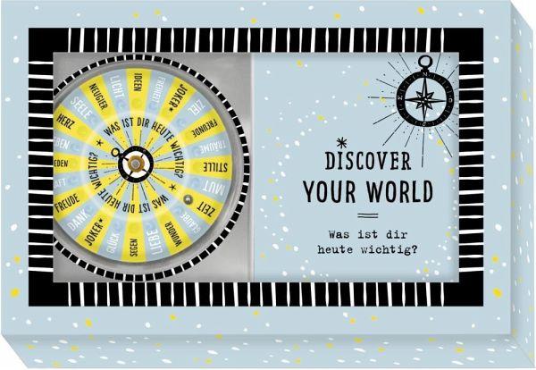 Coppenrath 'Discover your world - Was ist dir heute wichtig?' Schachtelspiel Bild 1