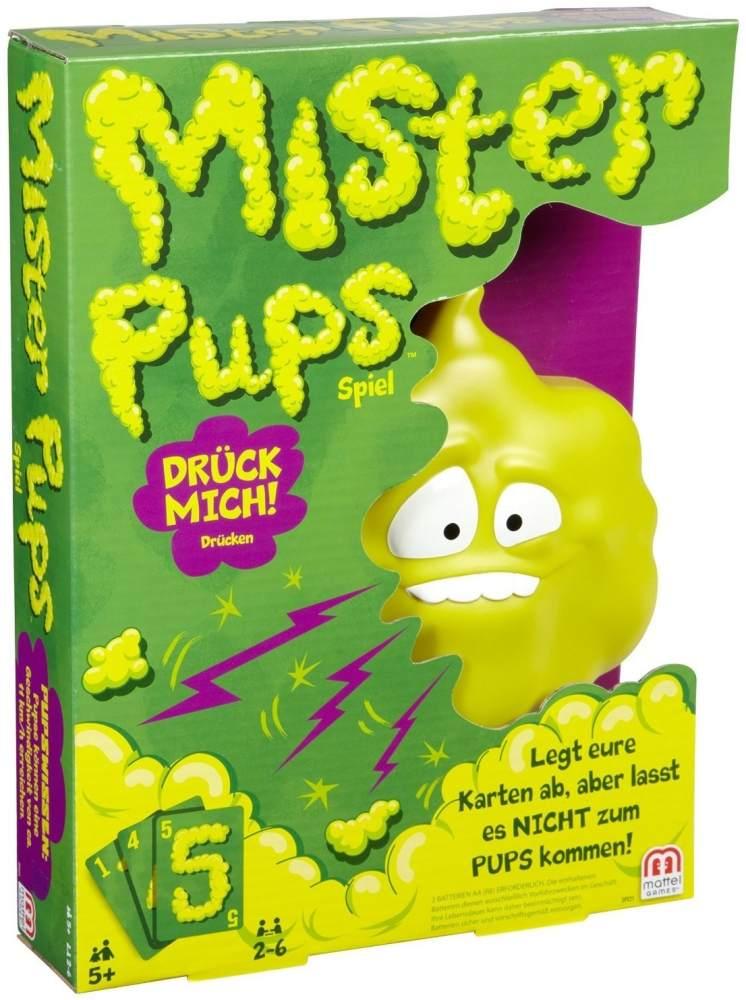 Mattel Games DPX25 - Mister Pups lustiges Kartenspiel und Kinderspiel geeignet für 2 - 6 Spieler, Kinderspiele ab 5 Jahren Bild 1
