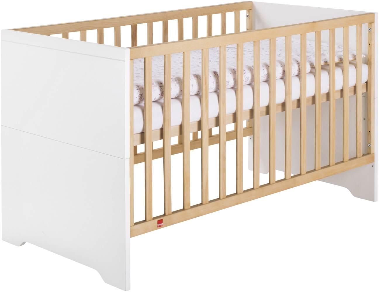 Schardt 'Coco White' Kombi-Kinderbett 70x140 cm, weiß Bild 1