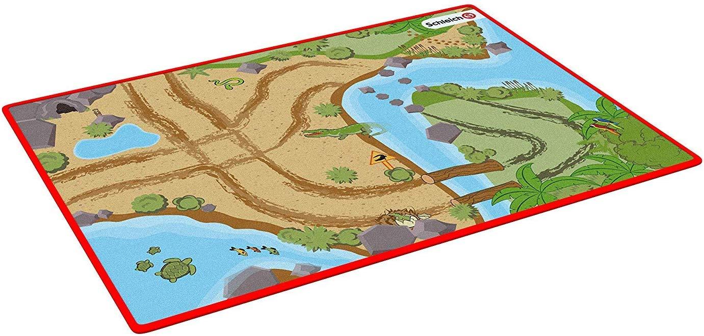 Schleich Spielteppich 'Wild Life' 92x133 cm Bild 1