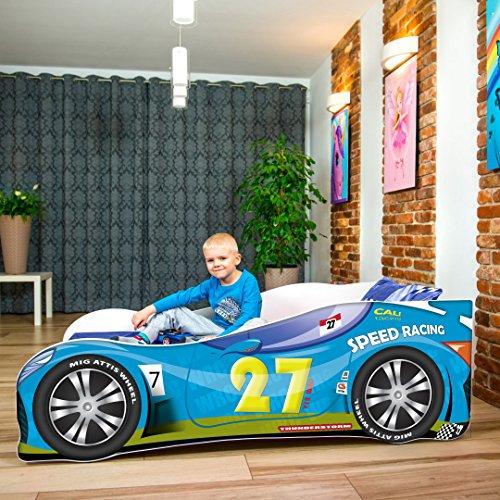 Nobiko Autobett blue 140 x 70 cm Bild 1