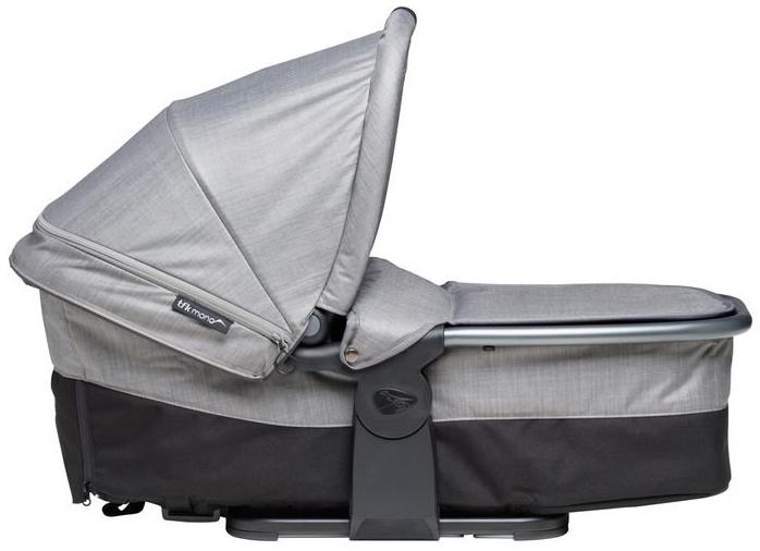 TFK Mono Kombieinheit - Liege / Sitzeinheit für TFK Mono Sportkinderwagen Grau Bild 1