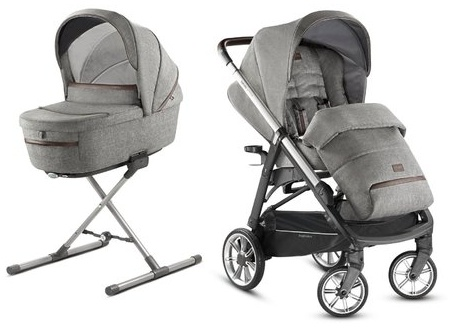 Inglesina 'Aptica – Kit System Duo' Kinderwagen 2 in 1 2020, Mineral Grey Bild 1