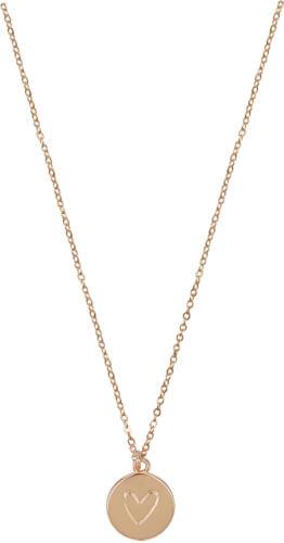 Coppenrath Halskette mit Herzanhänger, rosévergoldet Bild 1