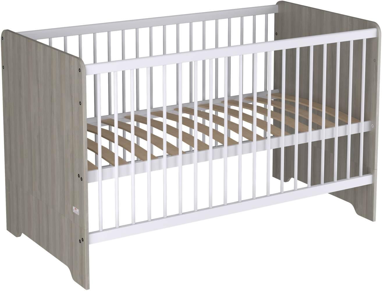 Polini Kids Kombi-Kinderbett 'Simple Nordic' naturgrau Bild 1