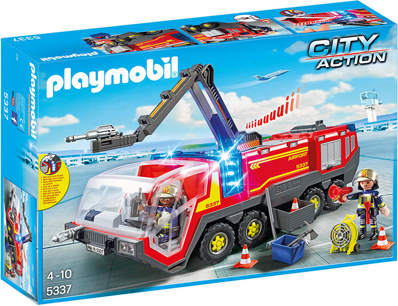 PLAYMOBIL - Flughafenlöschfahrzeug mit Licht und Sound 5337 Bild 1