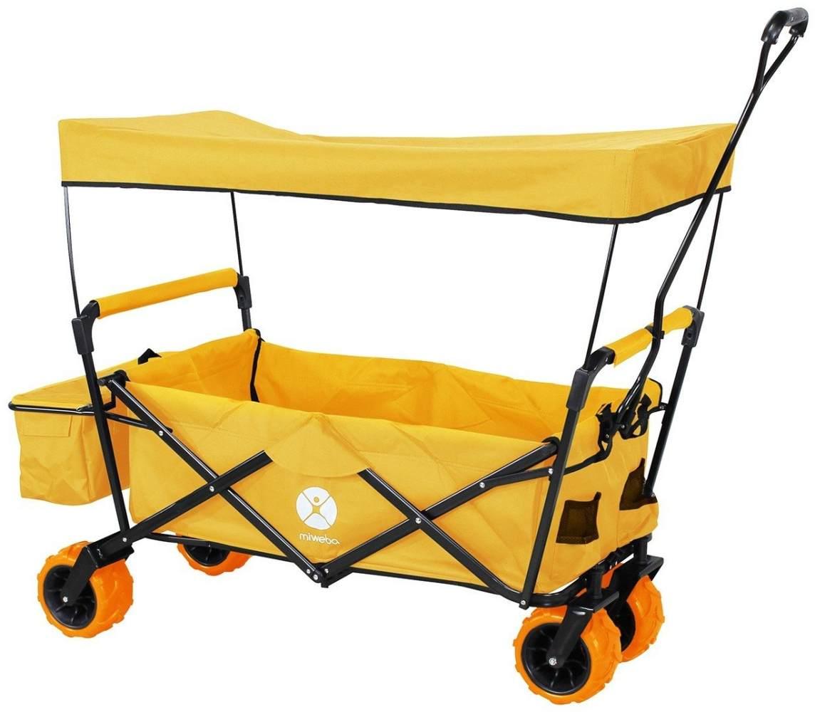 Miweba faltbarer Bollerwagen Orange Bild 1