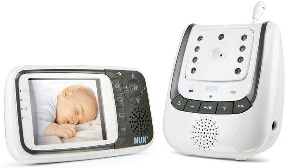 NUK Babyphone, mit Kamera Eco Control+ Video, 300 m Reichweite Bild 1