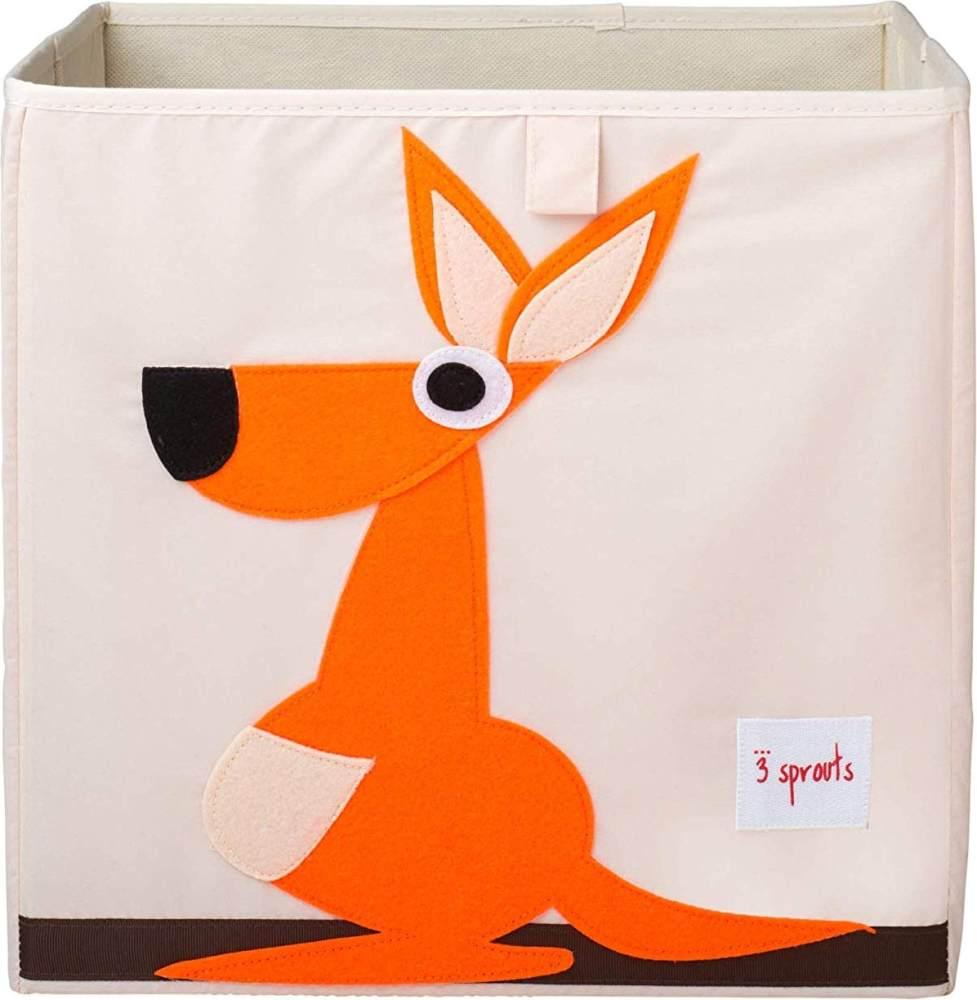 3 Sprouts Aufbewahrungsbox Känguru, mehrfarbig Bild 1