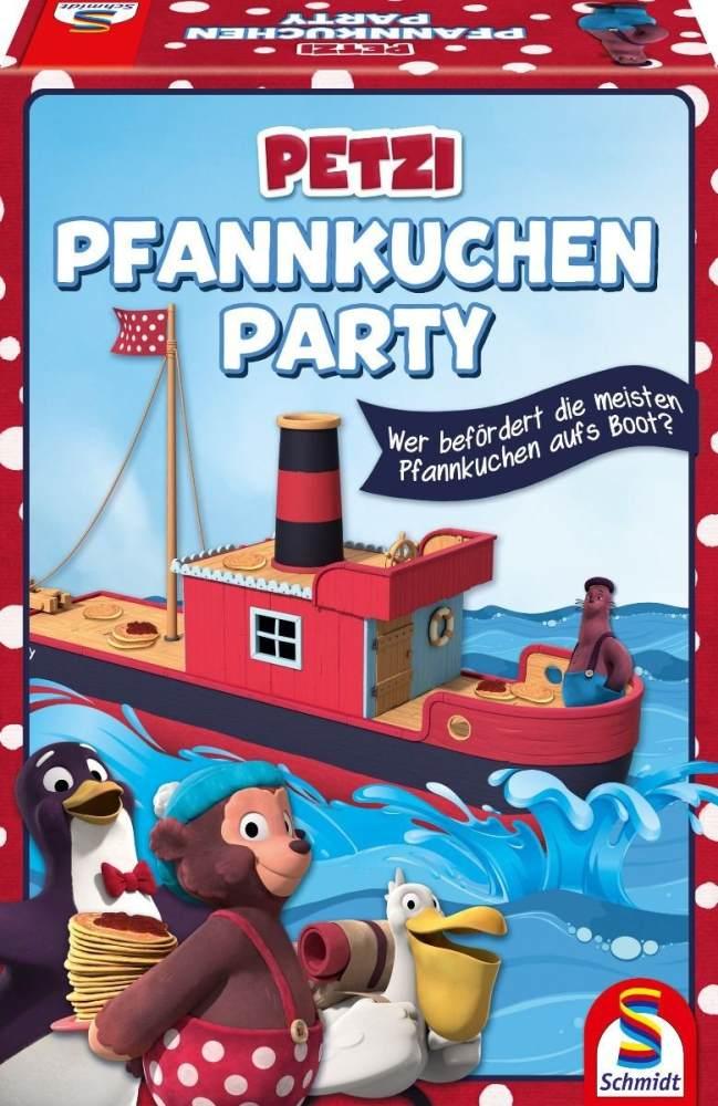 Schmidt Spiele 40585 Petzi, Pfannkuchenparty, Kinderspiel, bunt Bild 1
