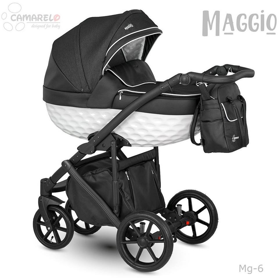 Camarelo Maggio Kombikinderwagen Mg-6 schwarz/ weiss Bild 1