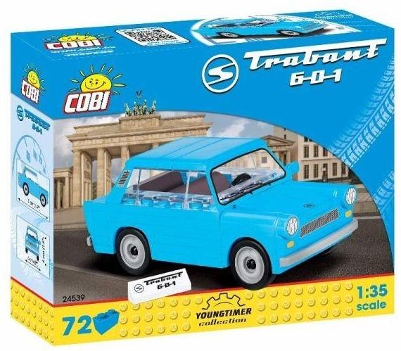 Cobi 24539 'Trabant 601' Modellauto, Maßstab 1:35, mit 72 hochwertigen Elementen Bild 1