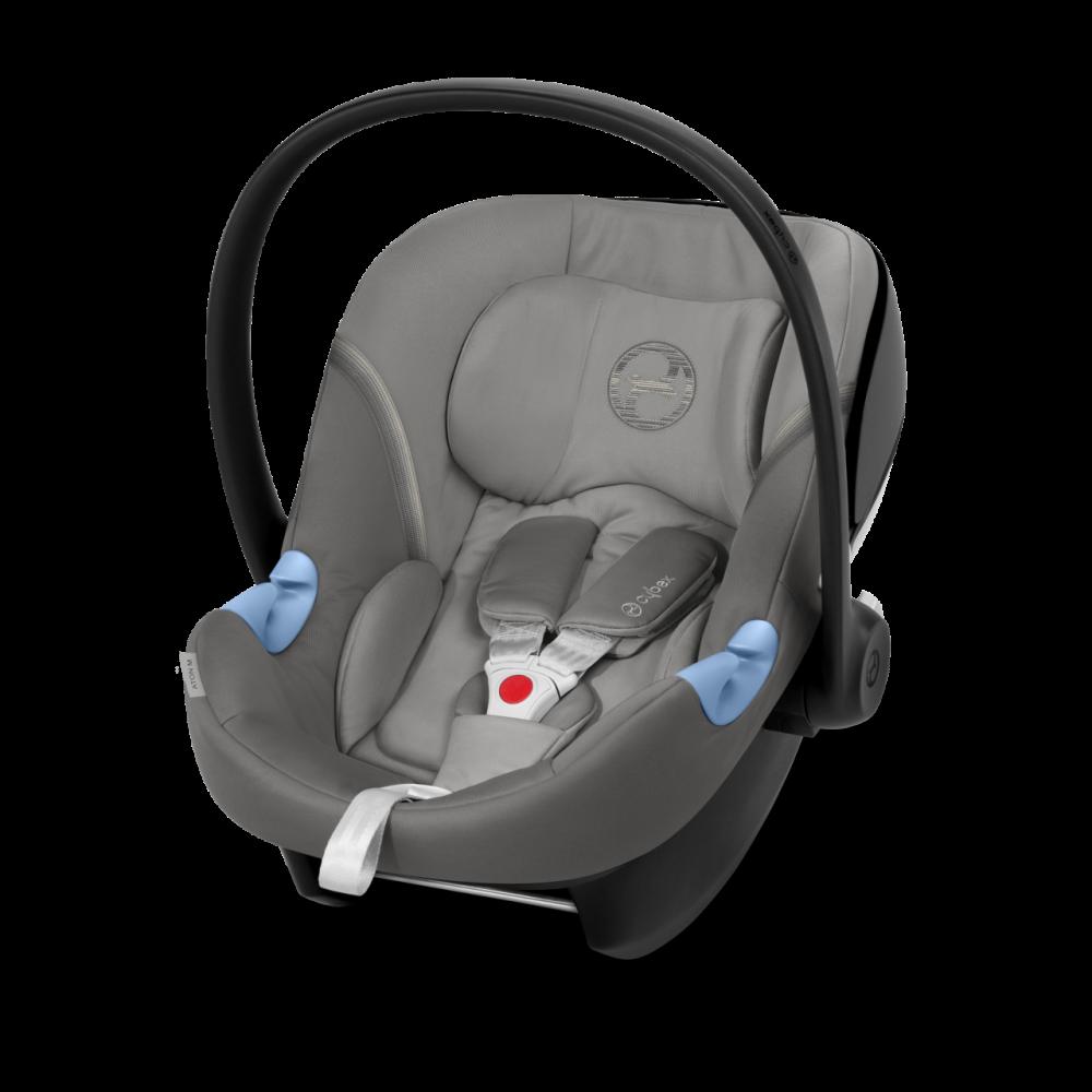 CYBEX 'Aton M' Babyschale 2020 Soho Grey von 0 bis 13 kg (Gruppe 0+) Isofix Bild 1