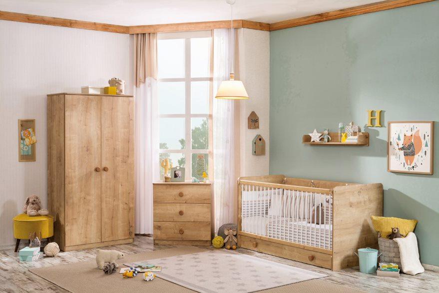 Cilek 'Mocha Baby' 4-tlg. Babyzimmer-Set Bild 1