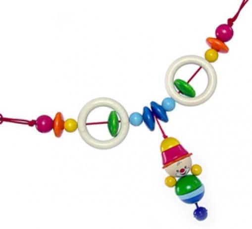 Hess-Spielzeug Wagenkette Clown Felix Bild 1