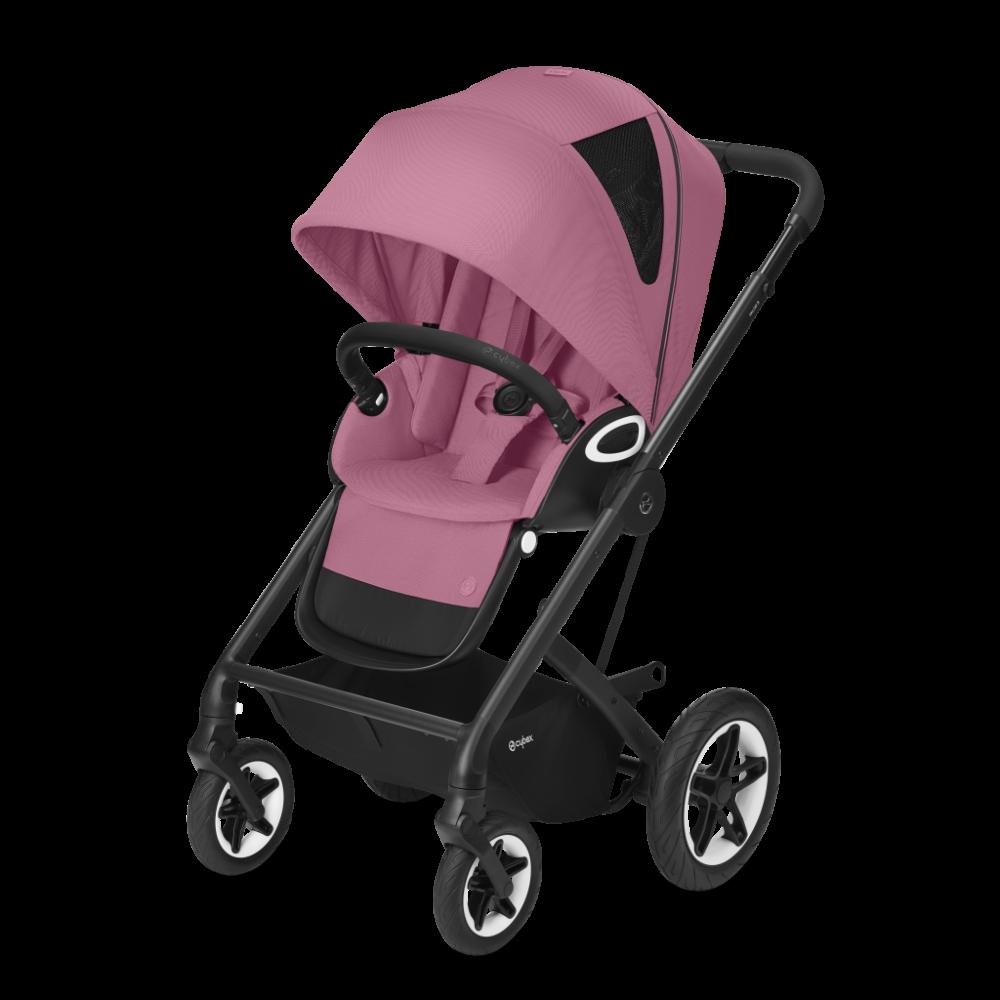 CYBEX Gold 'TALOS S LUX' Buggy 2021 Black/Magnolia Pink Bild 1