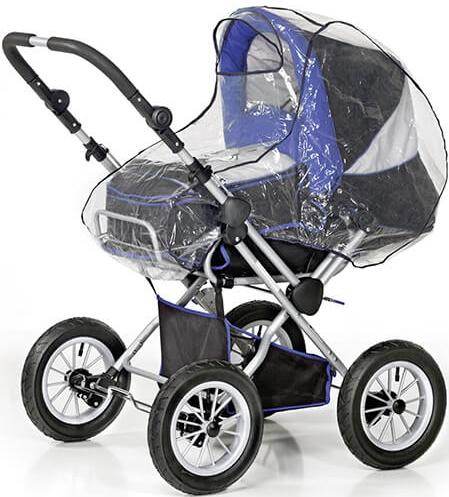 Reer PEVA Regenschutz für Kinderwagen mit Babywanne Bild 1