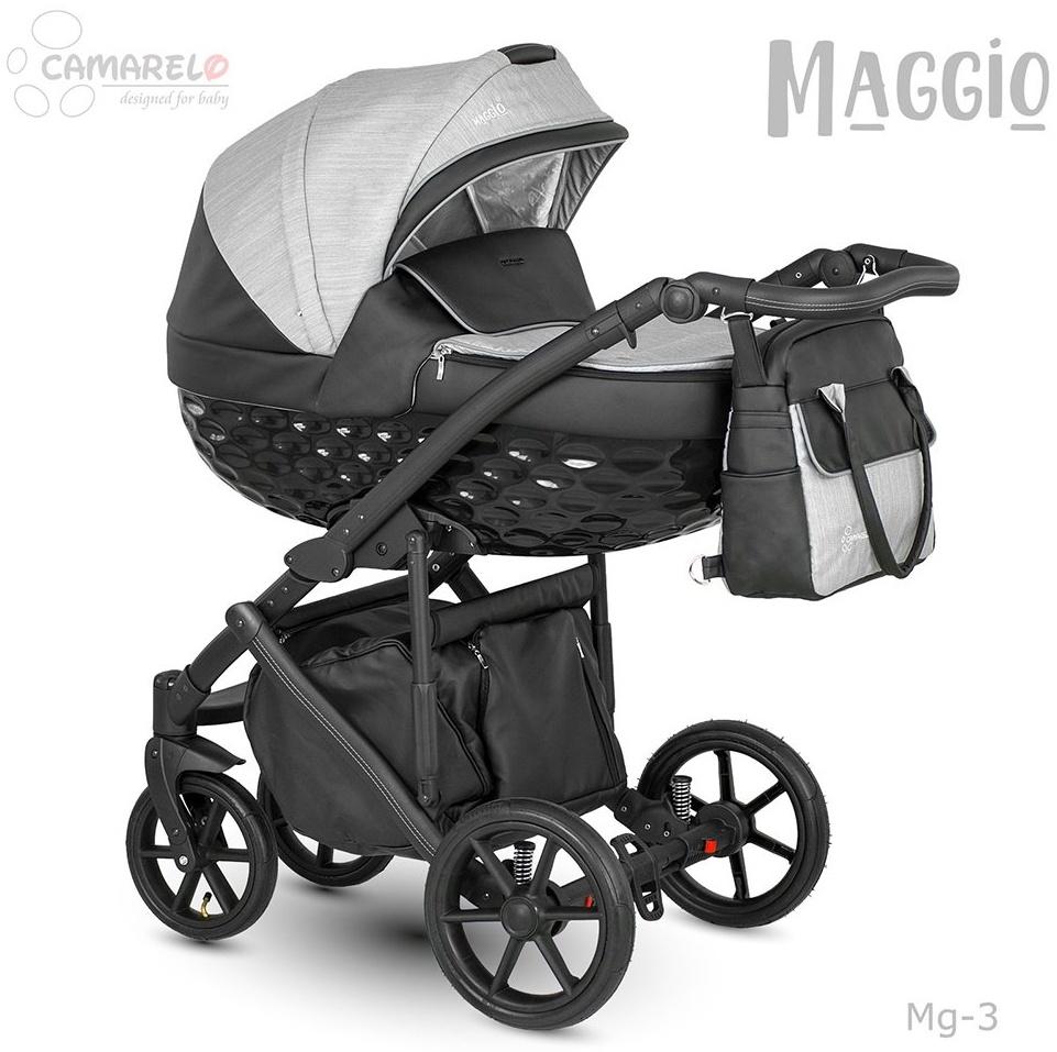 Camarelo Maggio Kombikinderwagen Mg-3 grau/ schwarz Bild 1
