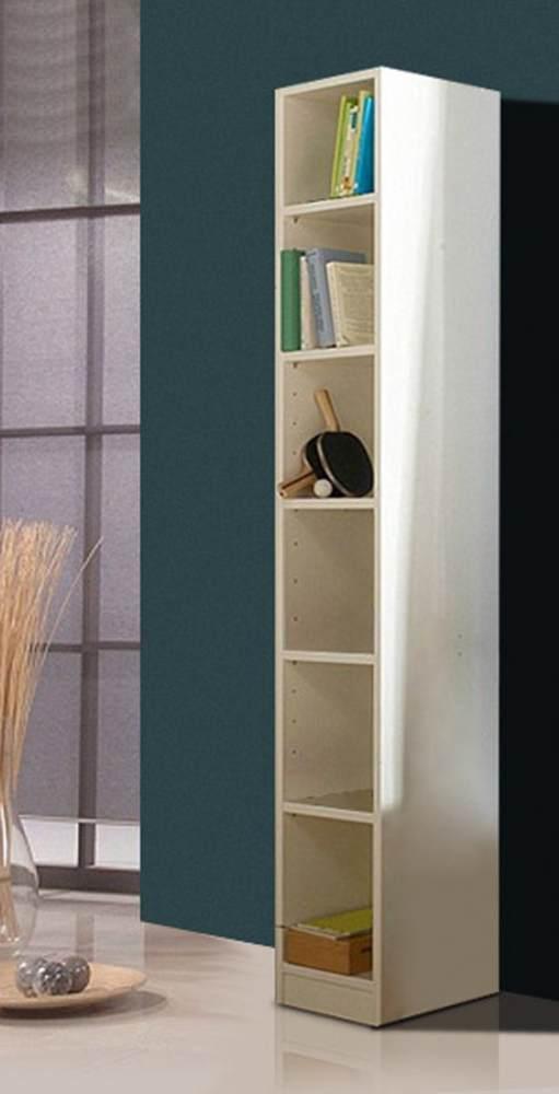 Wimex 'SUNNY' Regal weiß, 6 Fächer Bild 1