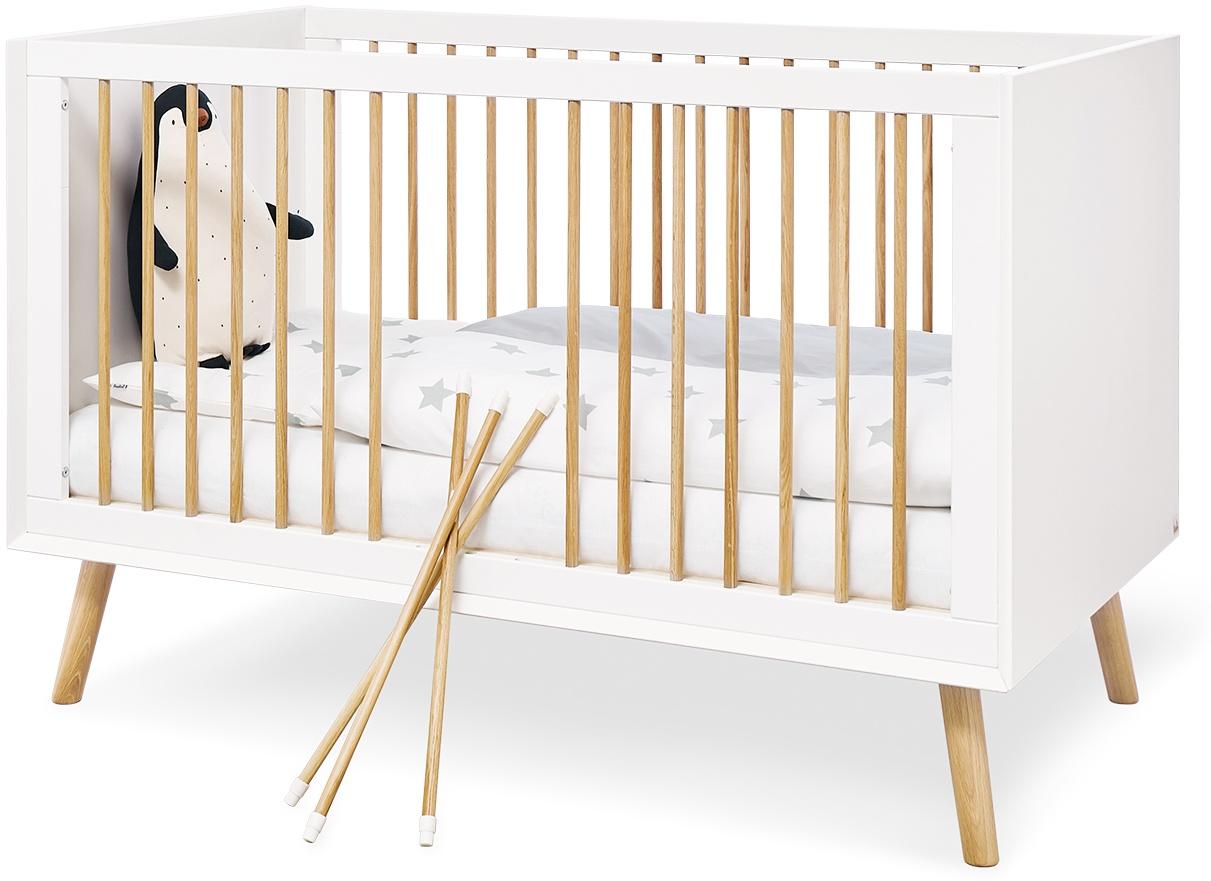Pinolino 'Edge' Kinderbett weiß Bild 1