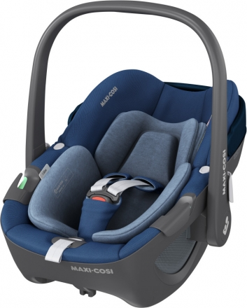 Maxi-Cosi 'Pebble 360' Babyschale 2021 Essential Blue, 0 bis 13 kg (Gruppe 0+) Bild 1