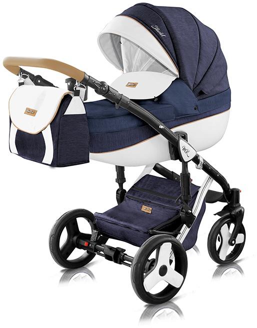 Milu Kids Starlet Plus Kombikinderwagen 2in1 St-38p dunkelblau Bild 1