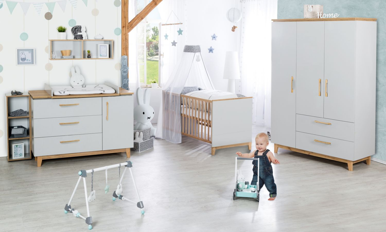 Roba 'Caro' 3-tlg. Babyzimmerset schrankbreit Bild 1