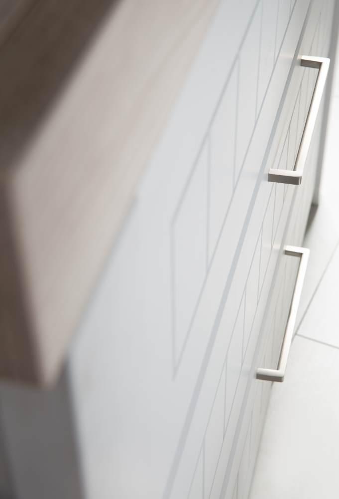 Roba 'Helene' Wickelkommode lichtgrau, mit Wickelansatz, 3 Schubladen, Soft-Close, Wickelhöhe 90 cm Bild 1