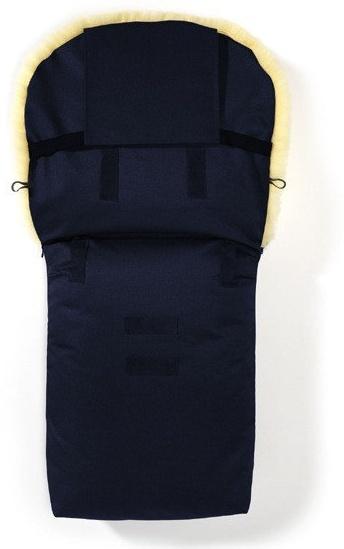 Hofbrucker - Lambskin footmuff for stroller Putzi navy blue Bild 1