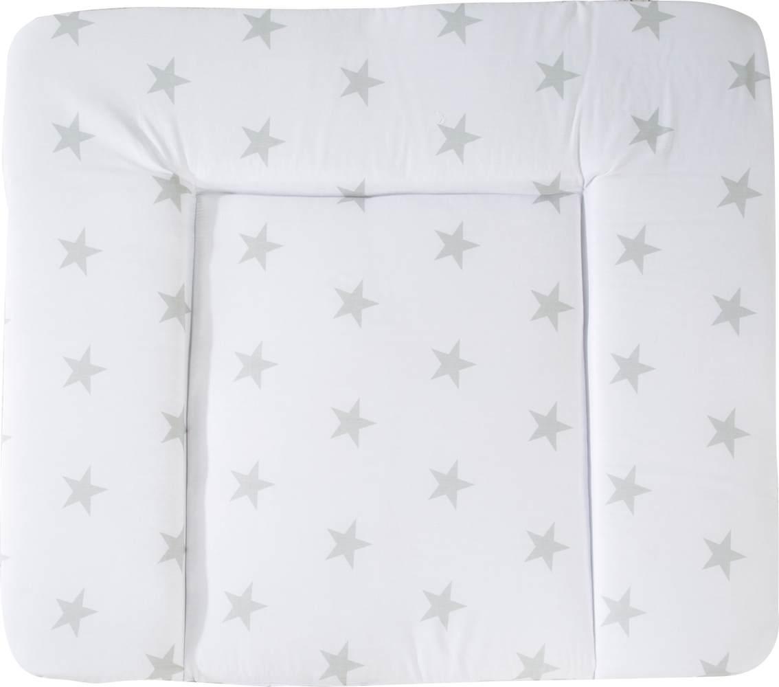 Roba 'Little Stars' Wickelauflage 75 x 85 cm weiß Bild 1