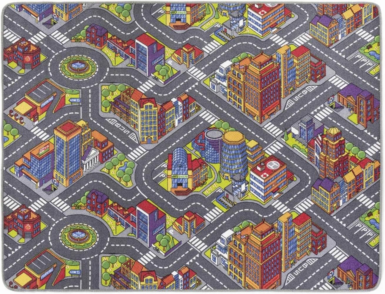 misento 'Big City' Kinderteppich 160 x 200 cm Bild 1