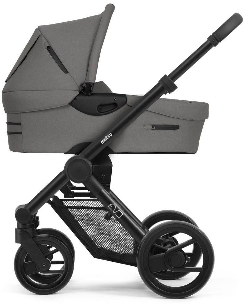 Mutsy 'Evo' Kombikinderwagen 2 in 1 2020, Grauer Griff/Black/Bold Warm Grey Bild 1