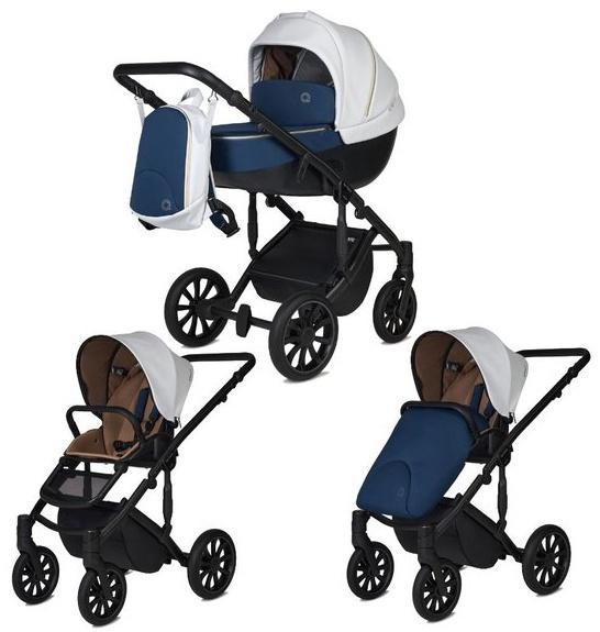Anex 'm/type' Kombikinderwagen 2 in 1 2022 Special Edition Set Noble inkl. Babywanne, Sitz, Wetterschutz und Beindecke Bild 1