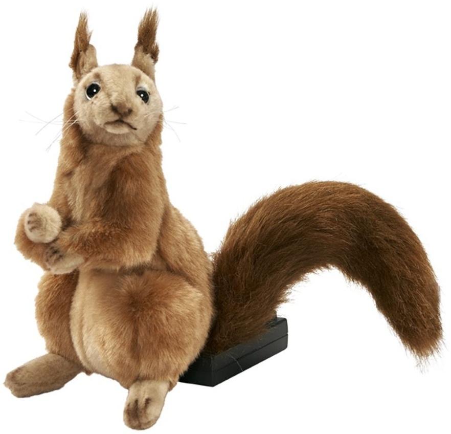 Niedliches Plüsch Eichhörnchen, 24 cm groß, von Hansa Creation Bild 1