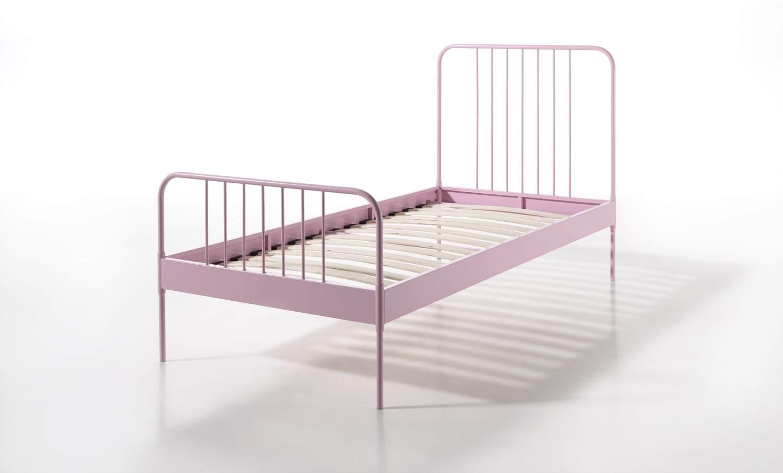 Vipack 'Jacky' Einzelbett rosa Bild 1