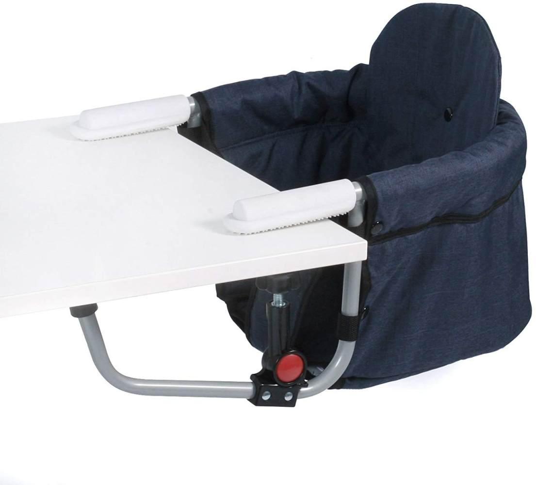 CHIC 4 BABY 350 52 Tischsitz Relax, Jeans navy, blau Bild 1