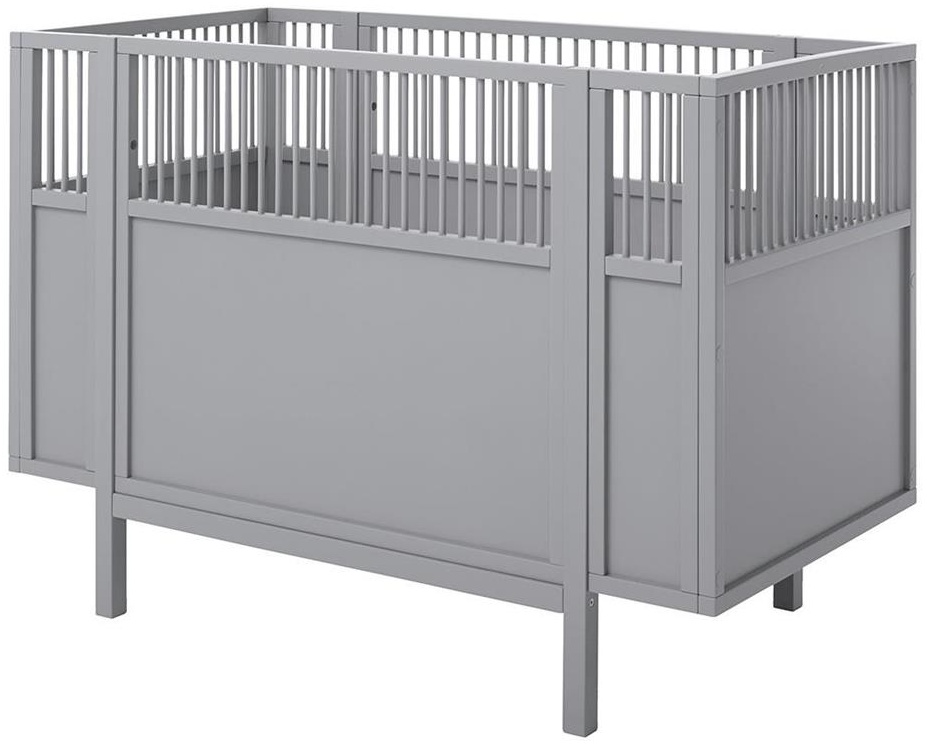 Lifetime Kidsroom Babybett grau Bild 1