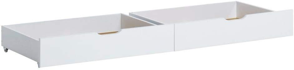 Hoppekids Schubladenset auf Rollen 70x160 weiß Bild 1