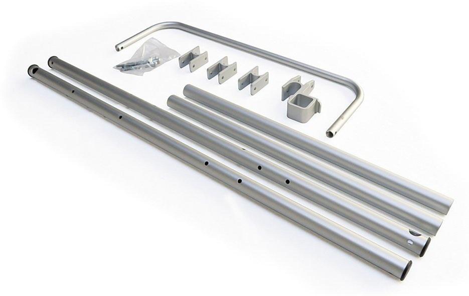 Burley Unisex– Erwachsene Rahmenrohre-3091996727 Rahmenrohre, Grau, One Size Bild 1
