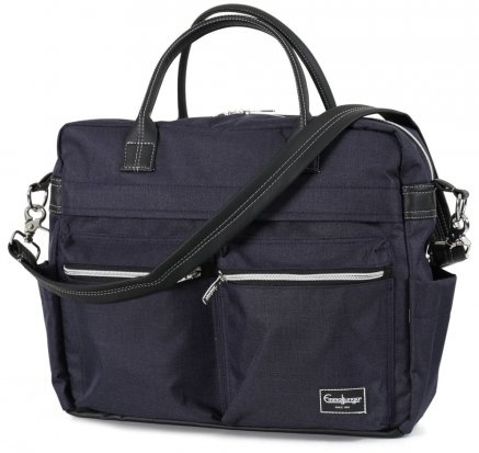 Emmaljunga Wickeltasche Travel Lounge navy eco Bild 1