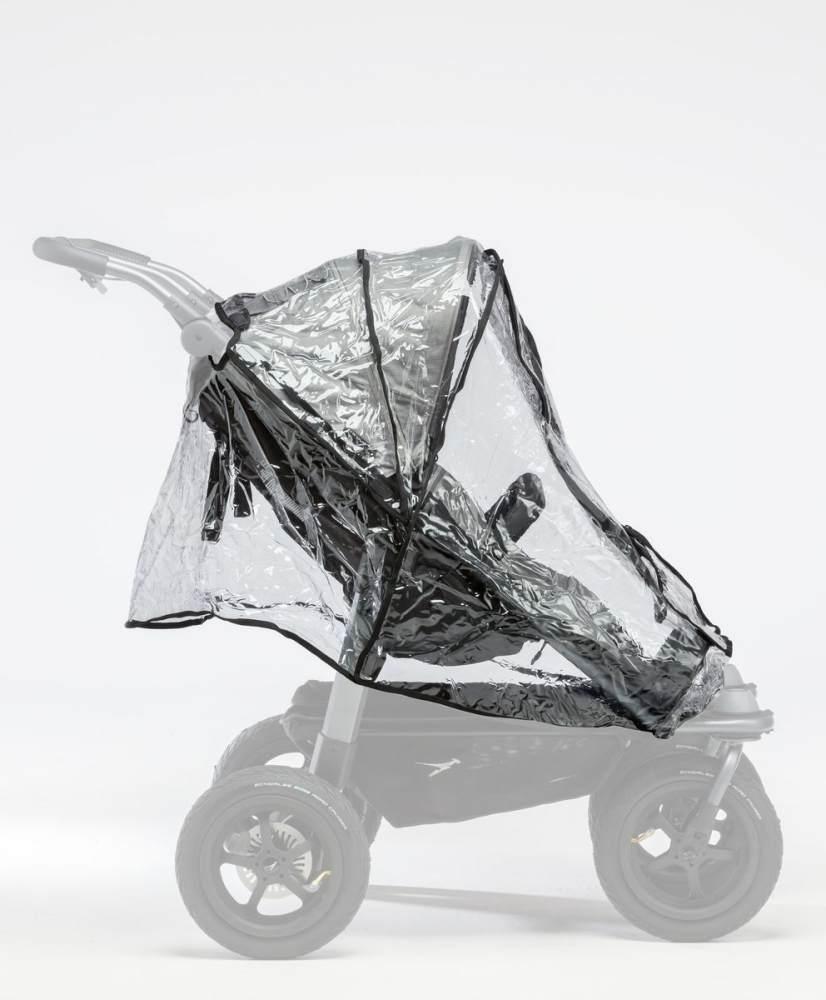 TFK Regenschutz für Mono oder Duo Kinderwagen Duo Sportkinderwagen Bild 1