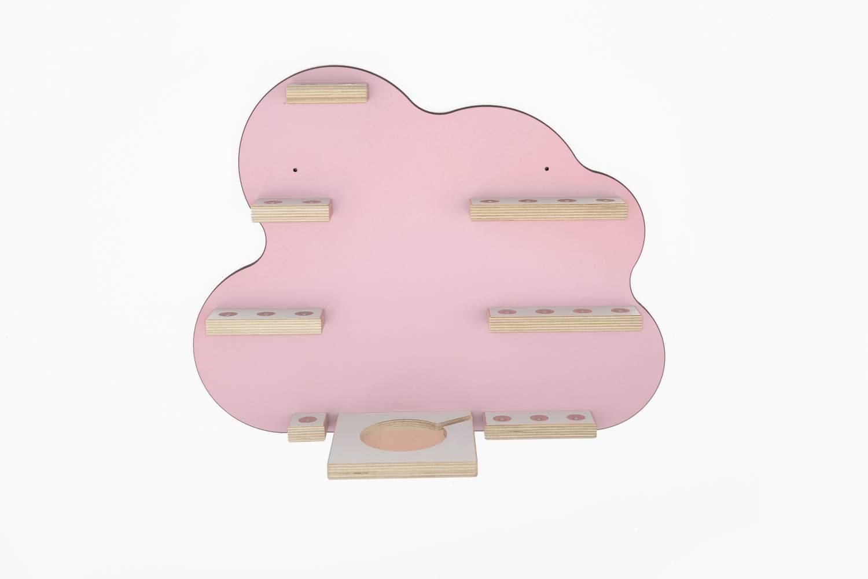 Schreinerei Linden 'Wolke groß' Tonie Regal rosa Bild 1