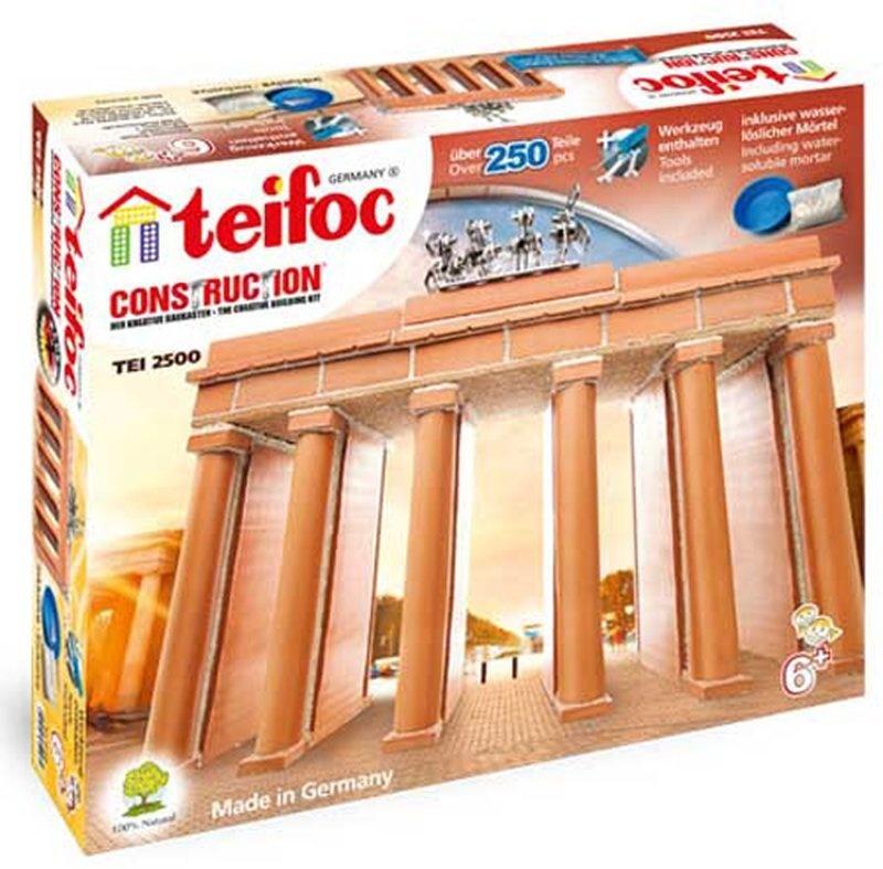Teifoc Steinbaukasten Brandenburger Tor 2500 Bild 1